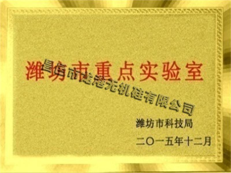 潍坊市重点实验室